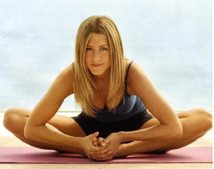 Jennifer Aniston's Love Affair With Yogalosophy!